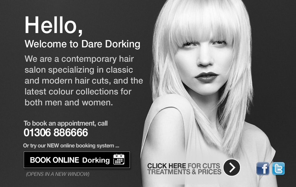 Dare Hairdressers Dorking